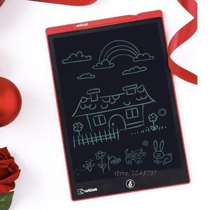 Image 2 - Youpin Wicue LCD yazma tableti el yazısı kurulu tek renkli elektronik çizim hayal grafik pedi çocuk ofis