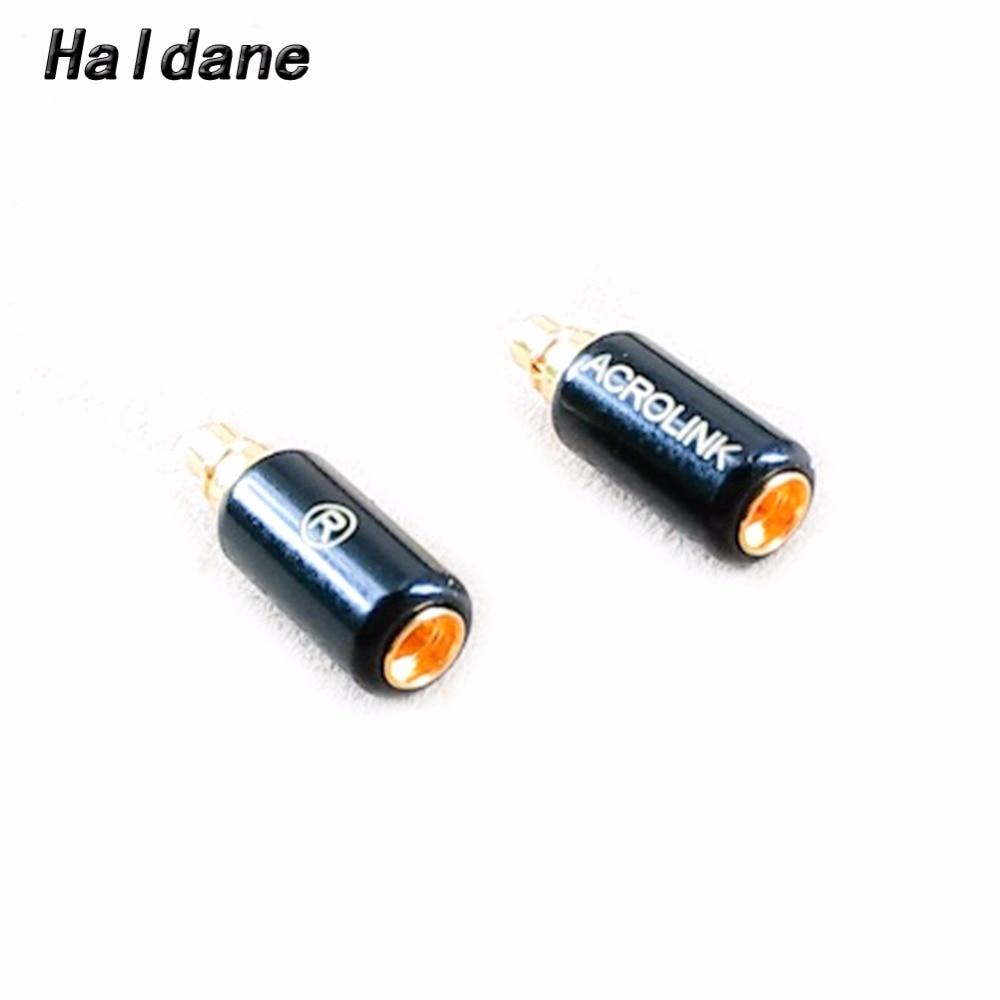 Free Shipping Haldane Headphone Plug for RHA CL1 N5005 Male to MMCX Female Converter Adapter