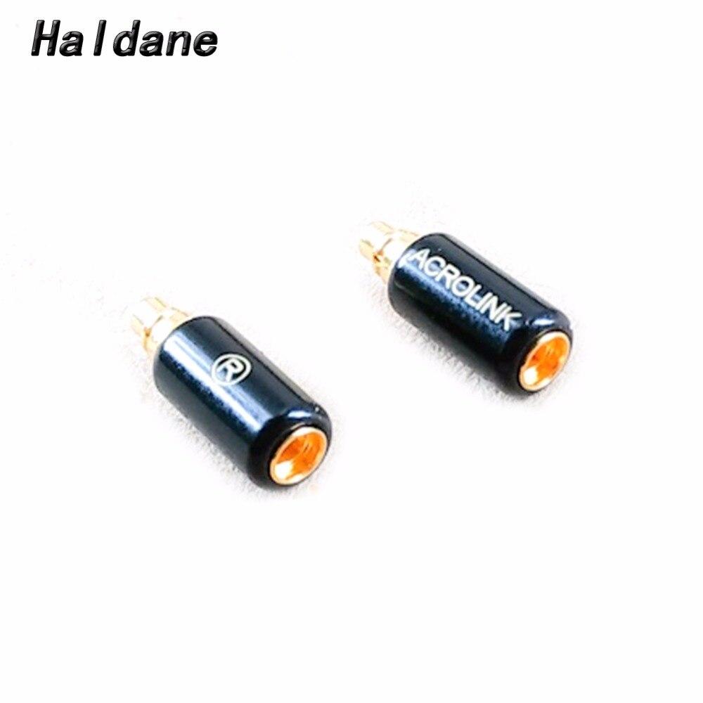จัดส่งฟรี Haldane ปลั๊กหูฟังสำหรับ RHA CL1 N5005 ชาย MMCX หญิงแปลงอะแดปเตอร์-ใน อุปกรณ์เสริมหูฟัง จาก อุปกรณ์อิเล็กทรอนิกส์ บน AliExpress - 11.11_สิบเอ็ด สิบเอ็ดวันคนโสด 1
