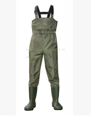 Europe Style Fishing Wading Pants Man Breathable Chest Waders Waterproof Thickening Nylon Fishing Car Washing Clothes Hunting