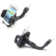 2016 Universal Motorcycle Holder Multi Mobile Phone Stand Car Mount Desktop Flexible Holder For Iphone 5,5s galaxy s5 s3 s4