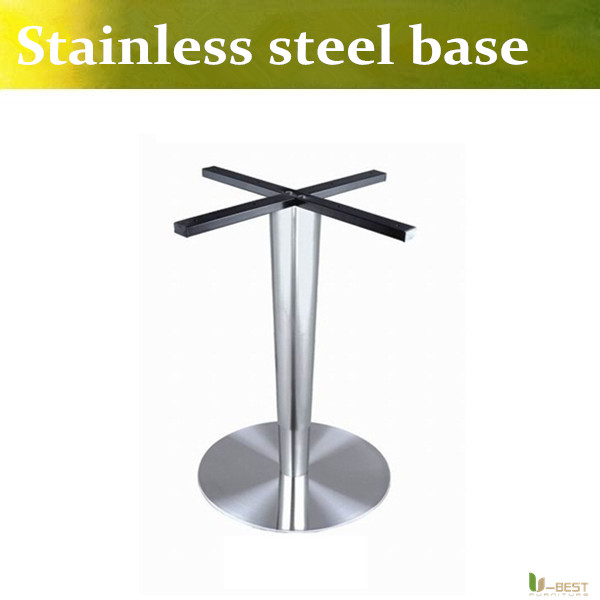 U-BEST  bar furniture /cafe furniture/cafe table base Round Coffee Table Base designed to be used in pubs, bars, restaurants