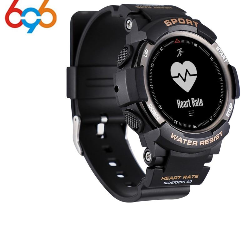 2018 новый № 1 F6 Smartwatch IP68 Водонепроницаемый Bluetooth 4,0 динамический монитор сердечного ритма Смарт часы для Android Apple Smart фо