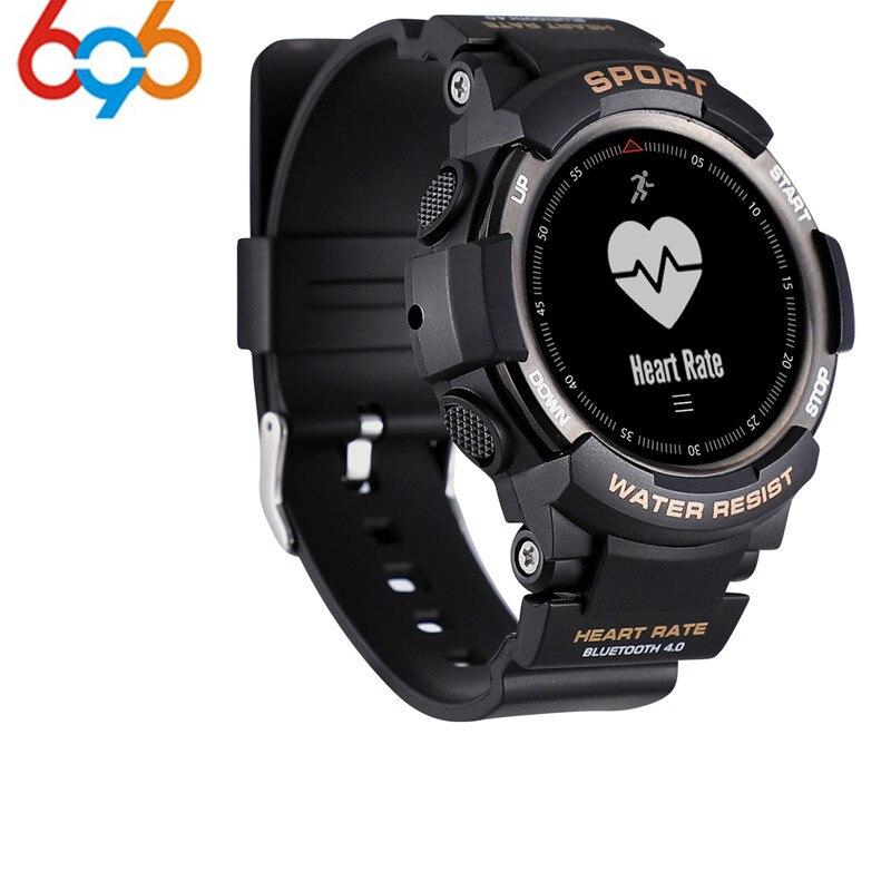 2018 NEUE No. 1 F6 Smartwatch IP68 Wasserdichte Bluetooth 4,0 Dynamische Herz Rate Monitor Smart uhr Für Android Apple Smart pho