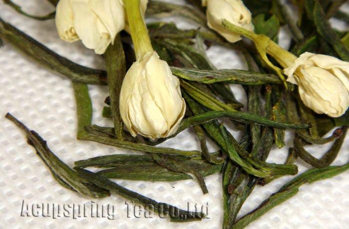 500g/1lb Premium Jasmine Flower Anji White Tea, Anji Bai Cha, Tea,A3CLA02M, Free Shipping 500g 1lb premium jasmine flower anji white tea anji bai cha tea a3cla02m free shipping