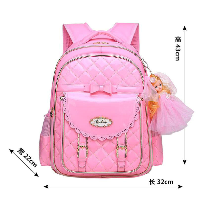 5f18c19f98 2018 New Style Primary School Students School Bag Girls Children Backpack  Lovely Shoulder Travel Mochila Grade 1 9 Schoolbag-in School Bags from  Luggage ...