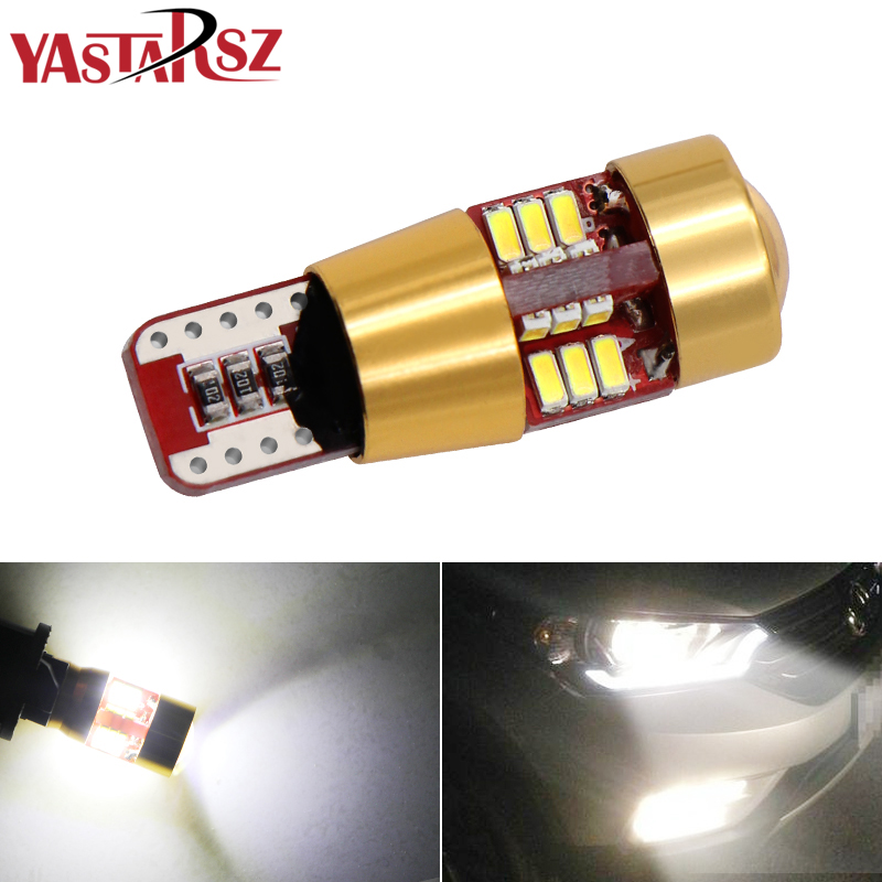 1PCS 12V T10 194 168 W5W 27 <font><b>LED</b></font> Parking Lights Sidelight No Error For Mercedes Benz <font><b>W202</b></font> W220 W124 W211 W222 X204 W164 W204 image