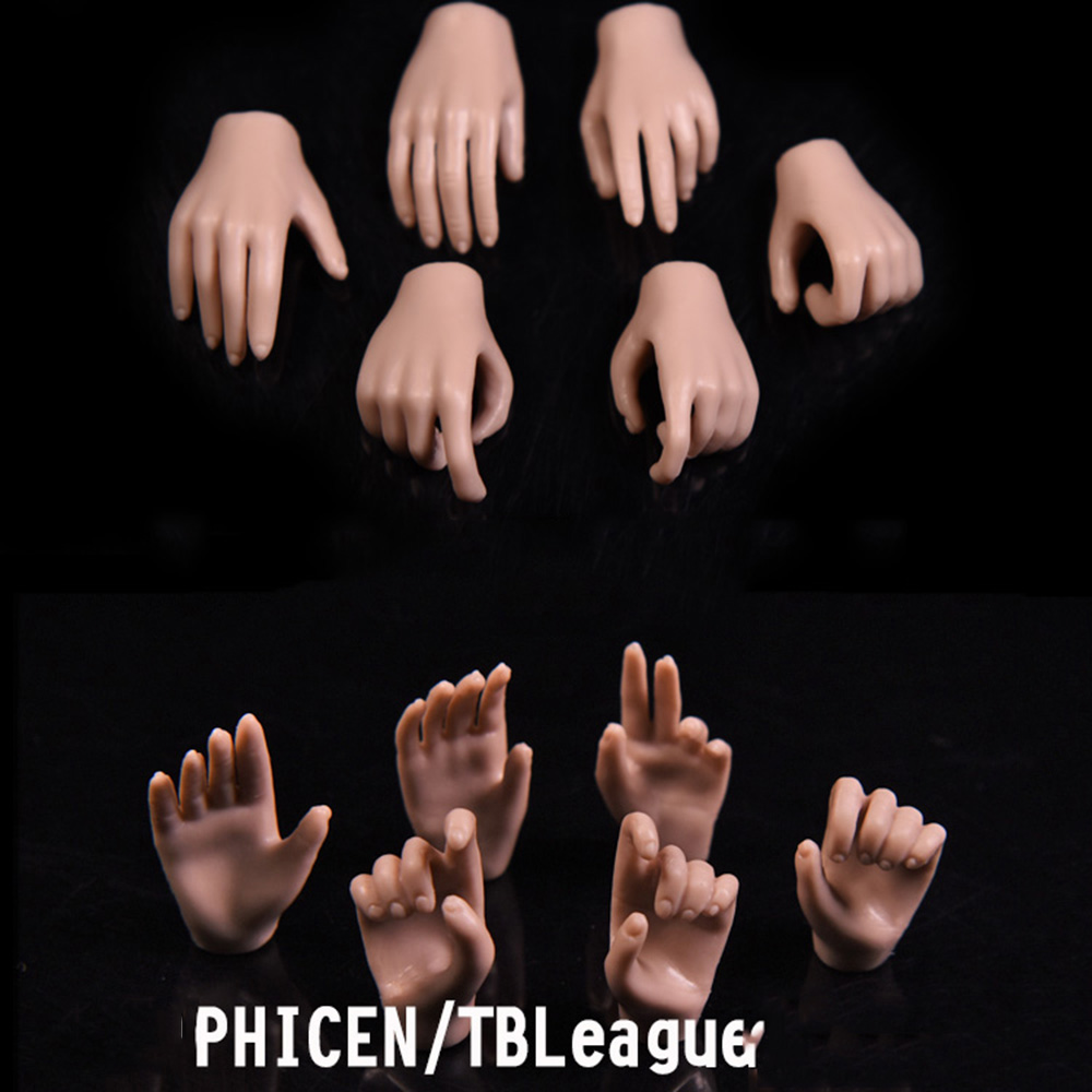 1 6 Scale Woman Hand Model Long nails Claw hand For 12 quot Male Action Figure Body 3 PAIRS New in Action amp Toy Figures from Toys amp Hobbies