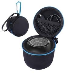 Portable Travel Carry Handle EVA Hard Case Bag for Anker SoundCore Mini Super-Portable Bluetooth Speaker Zipper Pouch Bag