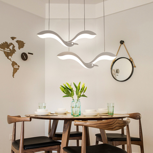 Image 4 - 創造現代のledペンダントシャンデリアライトdiningroomキッチンフロントデスクサスペンション照明器具suspendu ledシャンデリア