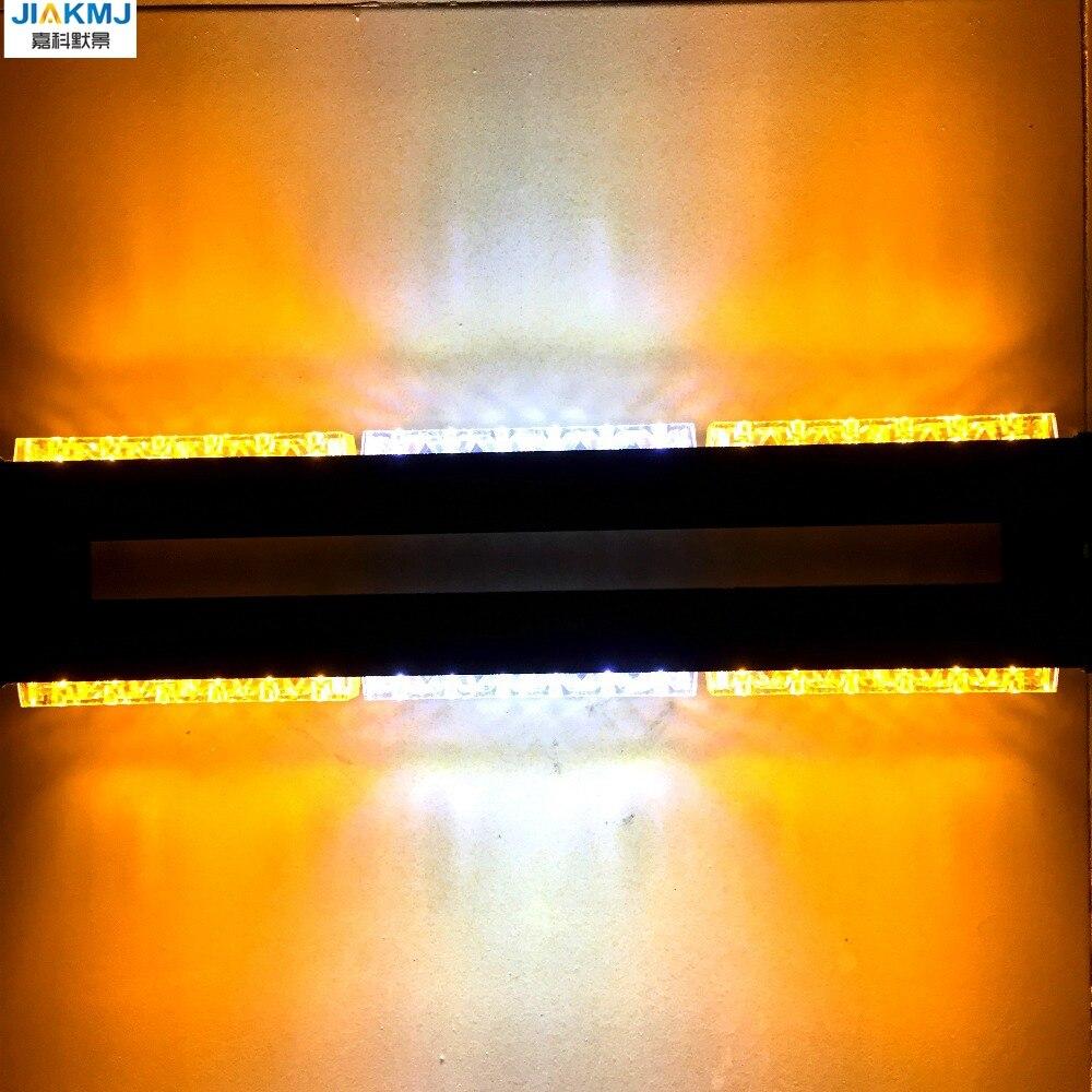 3 Watt Beiden seiten langes licht 36 LED DC12V lange Auto dach Notfall Warnung LightsEmergency Strobe blinklicht Rettungsfahrzeug lampe - 5