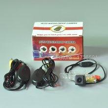 Беспроводная Камера Для Lincoln MKZ/MKT/MKX/Сзади Автомобиля Камера заднего вида/Камера Заднего Вида/HD CCD Ночного Видения/Легко установка