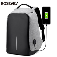 Multifunction USB Charging Men Laptop Backpacks For Teenager School Bags Fashion Male Mochila Leisure Travel Backpack
