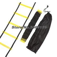 6-30 Rung нейлоновые ремни тренировочные лестницы скорость ловкость лестница для футбола скорость лестницы фитнес оборудование включая рюкзак