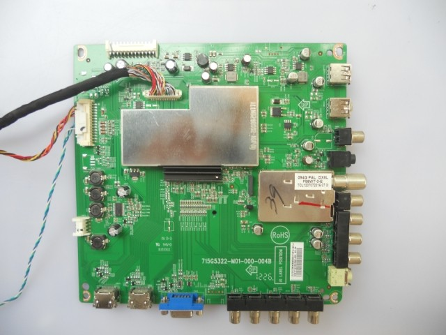 715G5322-M01-000-004B/004K For Screen TPT420H2-LE5 TPT315B5-A041 Good Working Tested lm cc53 22nts lcd screen tested good for shipping