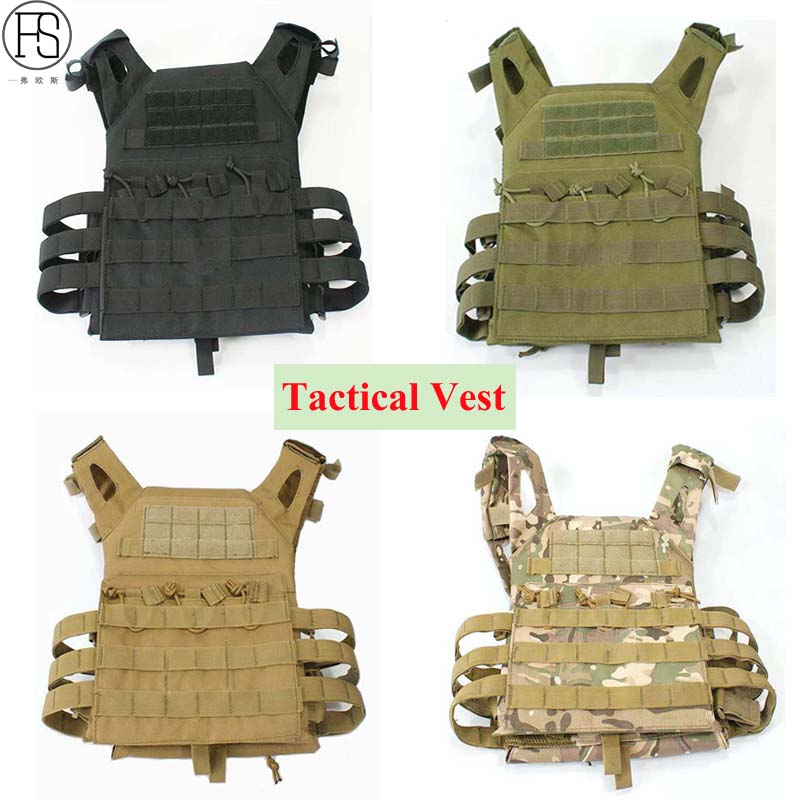 Good Military Equipment Tactical Vest Paintball Hunting Vests Tactical Airsoft Vest Outdoor Sport CS Wargame Combat Carrier Vest airsoft adults cs field game skeleton warrior skull paintball mask
