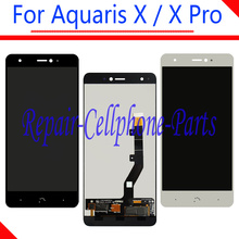 5.2 inch Black / White 100% New Full LCD DIsplay Touch Screen Digitizer Assembly Replacement For BQ Aquaris X / Aquaris X Pro