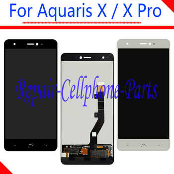 5.2 inch Black / White 100% New Full LCD DIsplay+Touch Screen Digitizer Assembly Replacement For BQ Aquaris X / Aquaris X Pro - DISCOUNT ITEM  0% OFF All Category