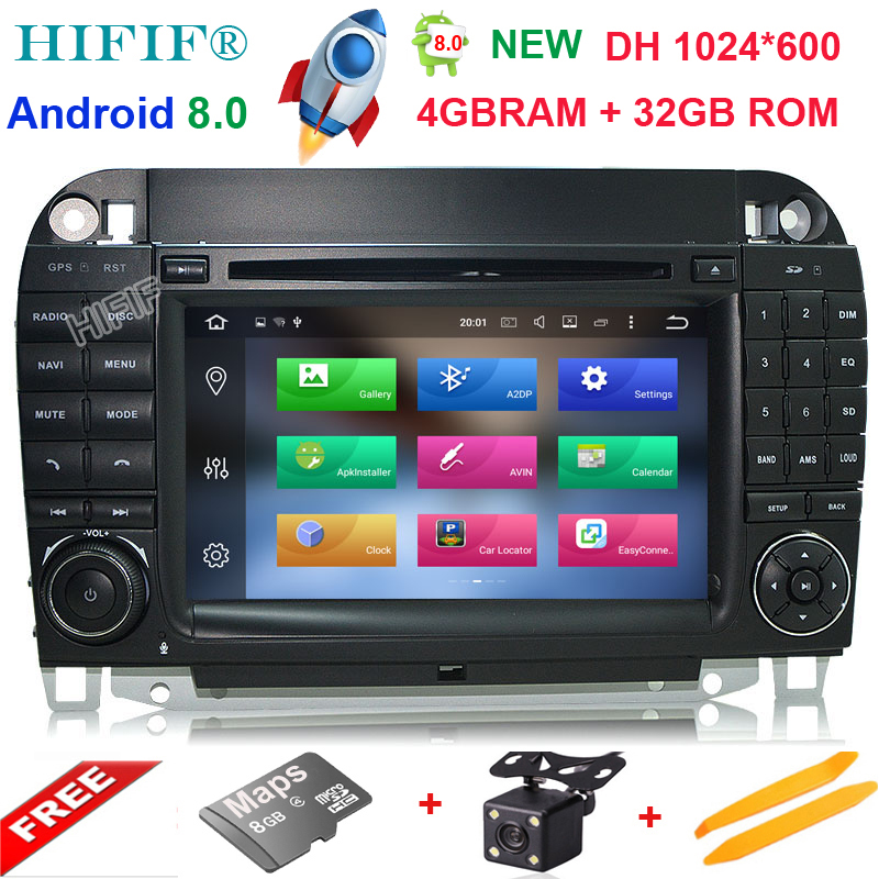 HIFIF 7 Android 8.0 4G RAM Radio GPS Car DVD Player for Mercedes Benz S-Class W220 S280 S320 S350 S400 S430 S500 1998-2004 2005 ac heater blower motor for mercedes benz w140 s280 s300 s320 s350 s400 s420 s500 s600