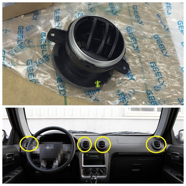 Geely CK 2,CK2,CK3 ,Car dashboard middle conditioning vent