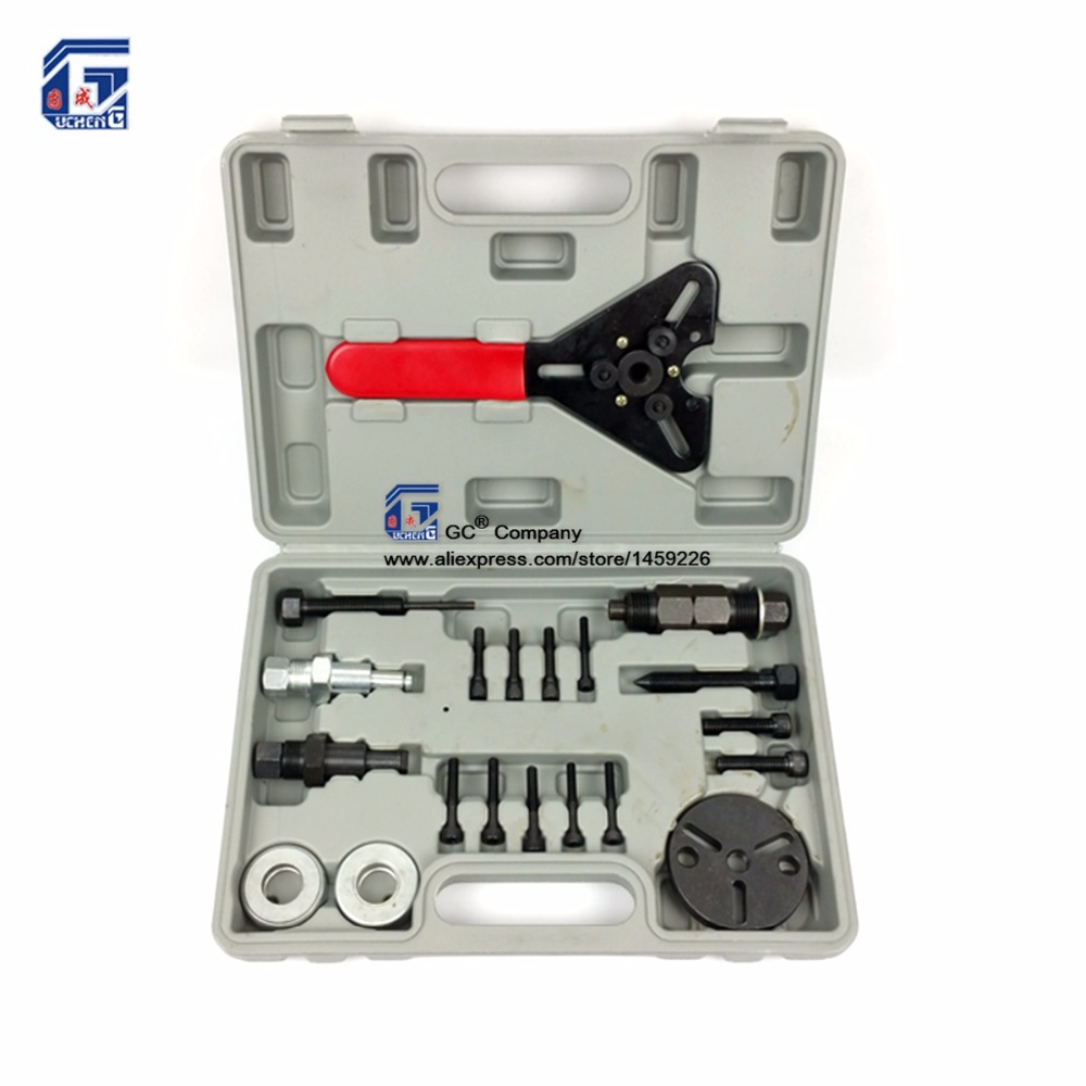 A C Compressor Clutch Hub Puller Remover Installer Tool Kit