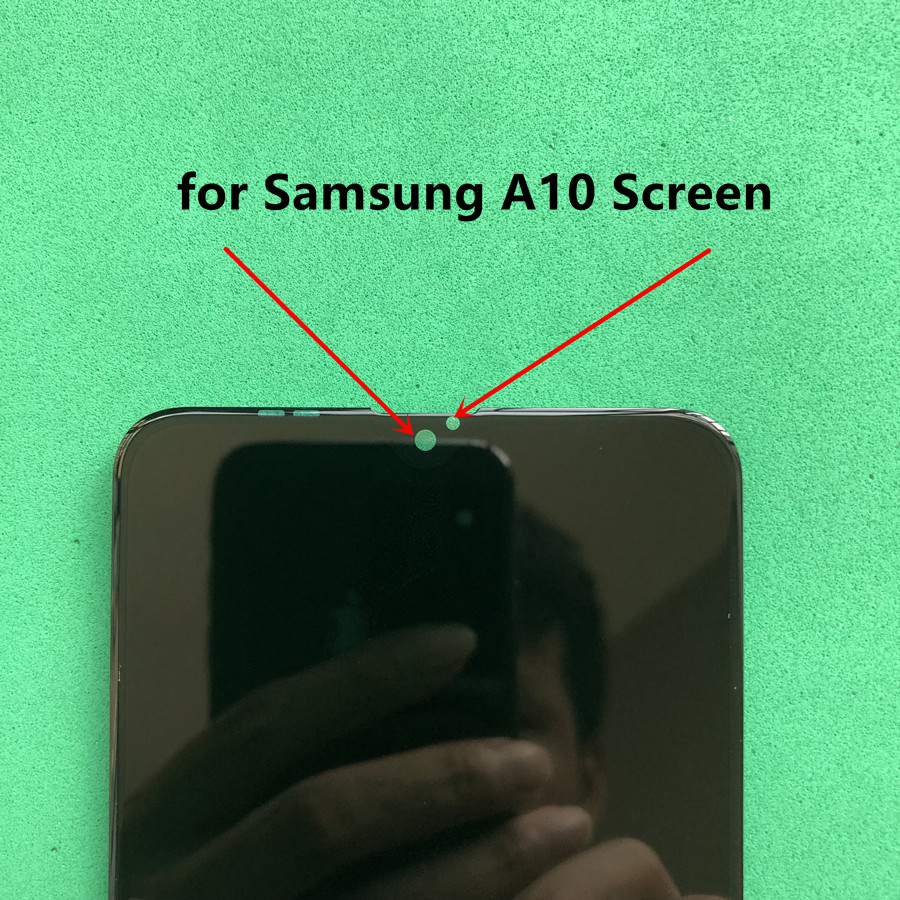 Image 3 - Original Replacement Screen for Samsung Galaxy A10 LCD Display Digitizer Assembly A10 A105 A105F SM A105F-in Mobile Phone LCD Screens from Cellphones & Telecommunications