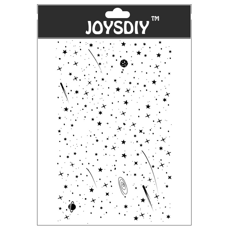 Reserve starry sky my dream for Scrapbook DIY photo cards account rubber stamp clear stamp transparent stamp Handmade card stamp Lahore