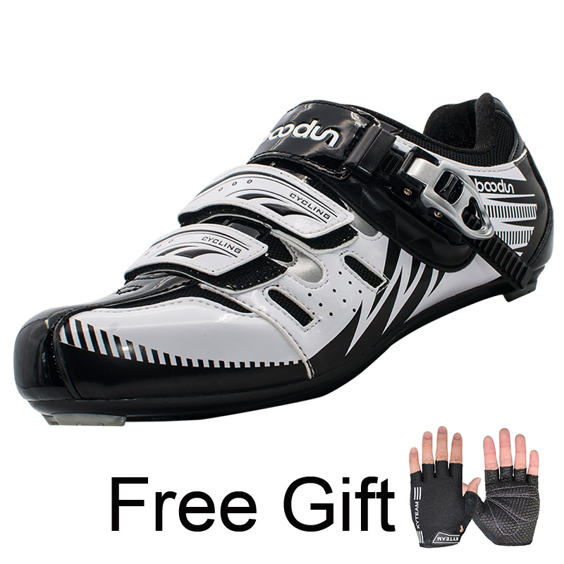 Boodun Road Cycling Shoes Men Outdoor Sport Bicycle Shoes Self-Locking Professional Racing Road Bike Shoes zapatillas ciclismo santic new design cycling shoes men outdoor road bike shoes self locking shoes non slip bicycle shoes sapatos with 3 colors