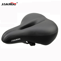 2016 New Free Shipping Bicycle Seat Cycling Saddle Comfortable Seat Mountain Bike Sponge Big Cushion Ride