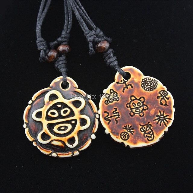 Men Womens Jewelry Native American Taino Sun Symbol Pendant