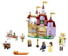 Beauté et La Bête 37001 Princesse Belles Enchanté Blocs de Construction Du Château pour Fille Enfants Modèle Jouets Compatible avec