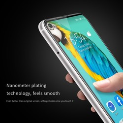 NILLKIN ochraniacz ekranu do Huawei Honor 20 szkło XD CP + MAX zakrzywiony pełny pokrowiec do Huawei Honor 20s /Nova 5T szkło hartowane