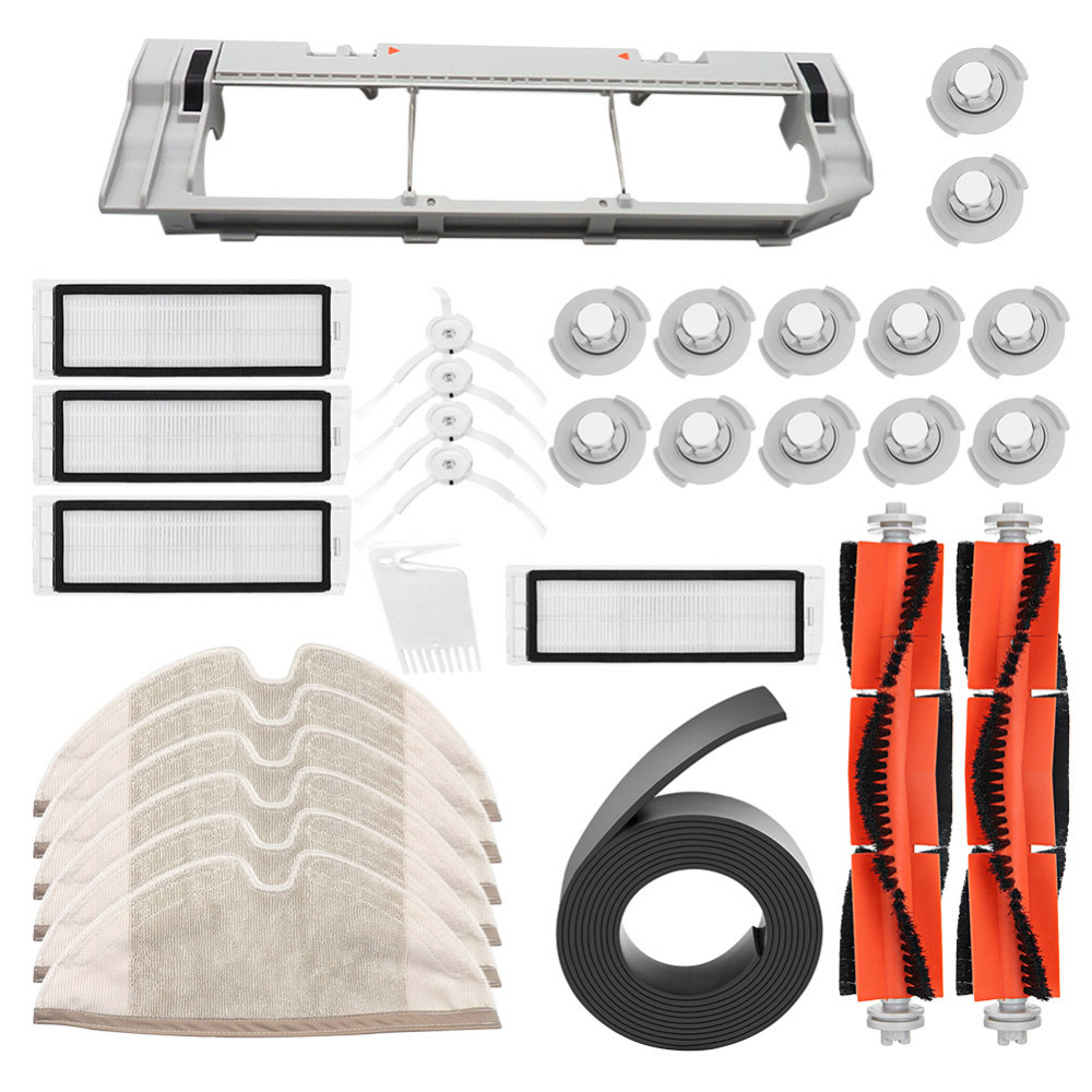 Home Appliances 31pcs/set Xiaomi Mijia Vacuum Cleaner Parts Brushes+filters+mop Cloths+water Filters+main Brush Cover+invisible Wall+small Comb Customers First