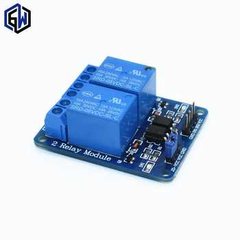 50pcs/lot 2-channel New 2 channel relay module relay expansion board 5V low level triggered 2-way relay module - DISCOUNT ITEM  17% OFF All Category