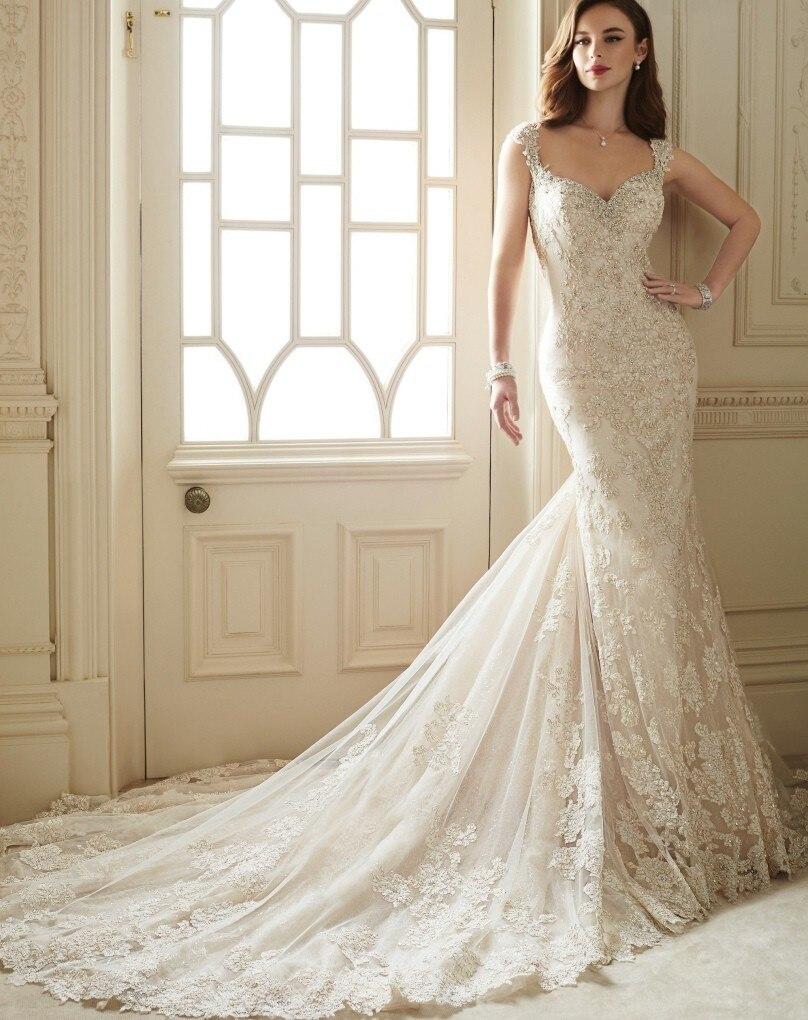 Vestido De Noiva Sereia 2018 Sexy Mermaid Vintage Lace Backless 2018 Robe De Mariage Casamento Mother Of The Bride Dresses