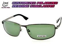 da74525bbc Clara vida Polarized Reading Gafas de Sol = Square myopia Polarized  personalizado Gafas de sol-1 a 6 + 1 1.5 2 a 4