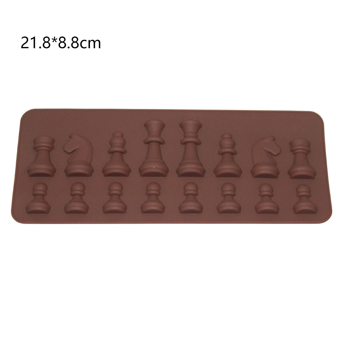 Gift International Chess King Queen Knight Rook Pawn Bishop Single-Sided Fondant Cake Chocolate Molds Kitchen Baking