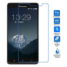 9H 2.5D Tempered Glass Screen Protector Film For Lenovo A916 A936 A828 Protective film For Lenovo A6000 6010 A6010 Plus(China)