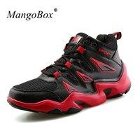 MangoBox Shoes Men Basketball 2017 Mens Training Shoes White Ladies Basketball Shoes Comfortable Womens Sneaker Boots