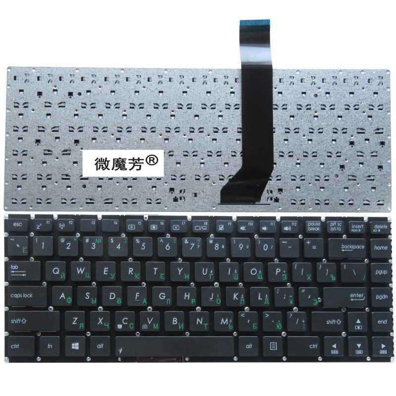 Russia NEW <font><b>Keyboard</b></font> FOR <font><b>ASUS</b></font> AK46 S46 S46C <font><b>K46CM</b></font> R405C E46C S405C K46 RU laptop <font><b>keyboard</b></font> image