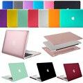 Mosiso Прорезиненные ноутбук Пластиковый Жесткий shell Защитный чехол для Macbook Pro 15 с Retina Display A1398 Ноутбук Втулка Крышки