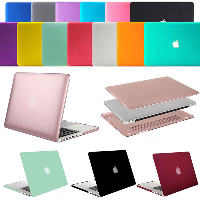 Mosiso Rubberized laptop Plastic Hard shell Protective case for Macbook Pro 15 with Retina Display A1398 Laptop Sleeve Cover
