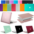 Mosiso laptop emborrachado plástico rígido shell case de proteção para macbook pro 15 com retina display a1398 laptop sleeve capa