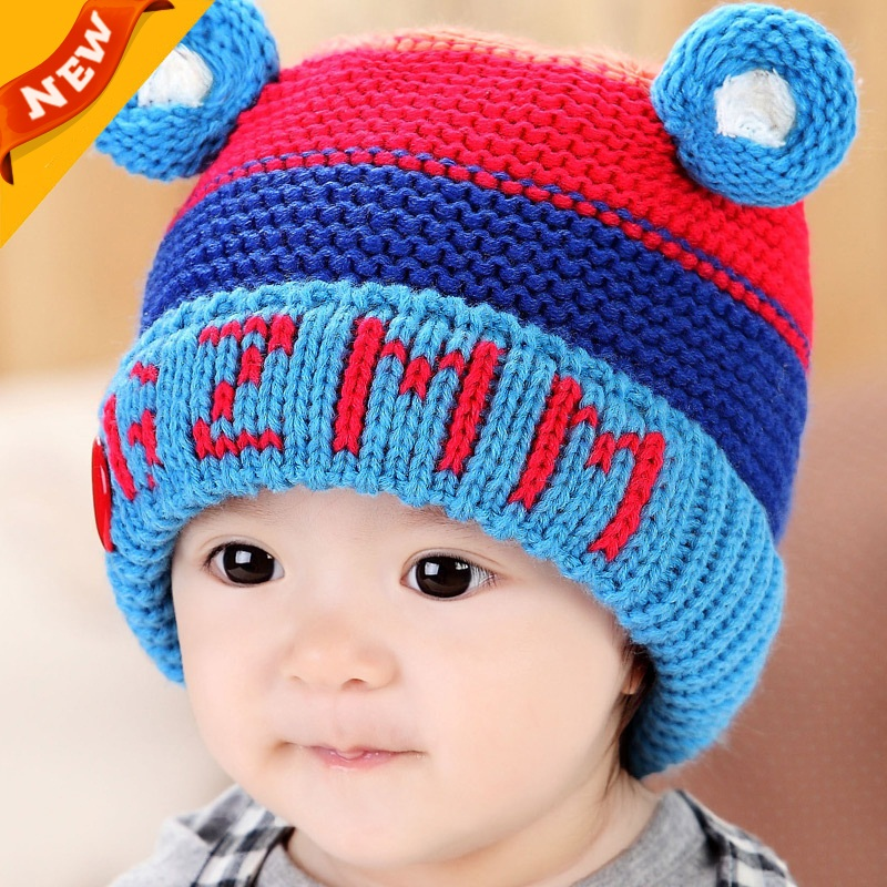 0e3de0a50e26 2015 Korean Bonnet Bebe Baby Boy Winter Hats Chapeu Infantil Brand ...