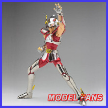 MODEL FANS IN-STOCK third batch King Aurora cs model Saint Seiya Pegasus V1 TV Version1 Helmet Cloth Myth Metal armor