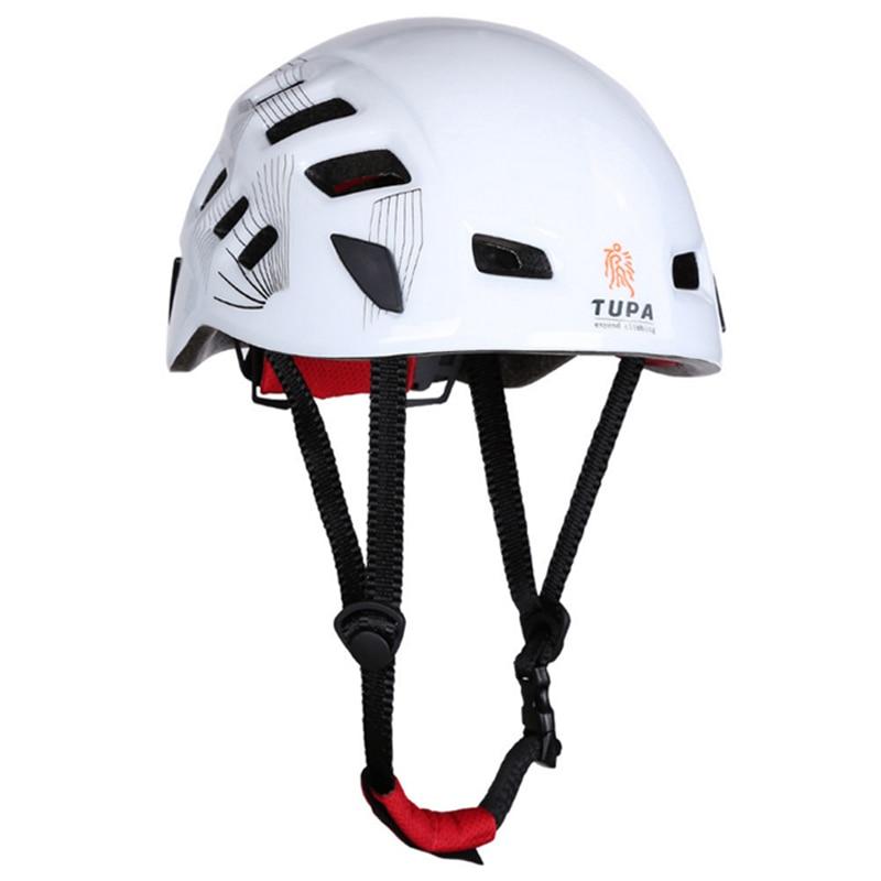 цена на Durable Integrally-molded Rock Climbing Helmet Climbing Helmet Material PC+EPS Casco Ciclismo Helmet CE Certification
