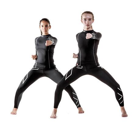 Mujeres al por mayor Pantalones de Las Medias de Compresión 2017 2XU Pantalones de fitness de Alta Elasticidad Suéter Adecuado paseo raza gymshark leggings
