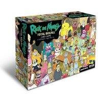 Rick and Morty Игра Полная риколл карточная игра коллекция карт Rick Y Morty Yuego для развлечения с коробкой