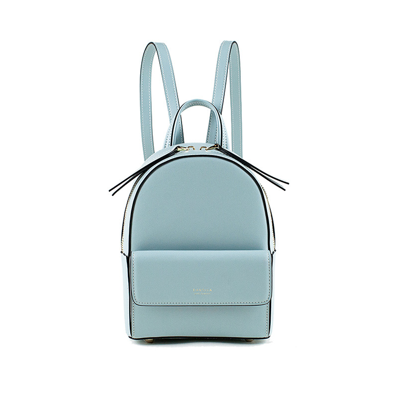 Luxury Genuine Leather Mini Backpacks For Women Designers Brand Back Pack School Bags For Teenage Girls Mochila Feminina 2019
