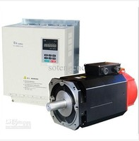 Spindle Servo Driver and Motor 11kw , 220V and 380V are optional